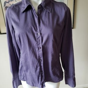 Geoffrey Beene Sport Stretch Purple size 10 Shirt